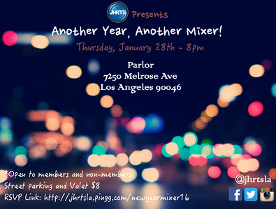 JHRTS Another Year, Another Mixer (1/28/16)