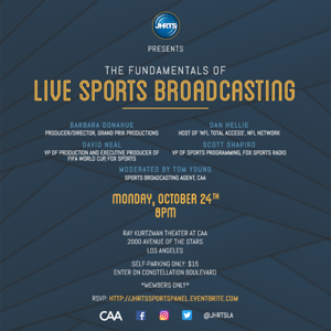 JHRTS Fundamentals of Live Sports Broadcasting Panel (10/24/16)