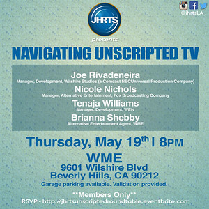 JHRTS Navigating Unscripted (5/19/16)