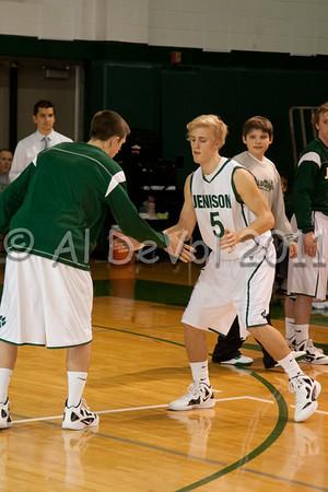 JHS Boys Varsity Basketball 2011-12