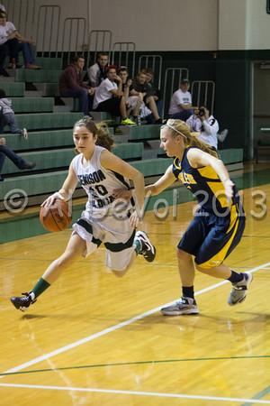 JHS Girls Varsity Basketball 2012-13
