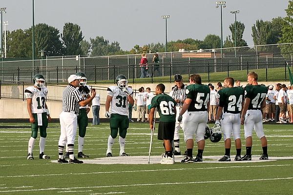 JHS Varsity Football 2008
