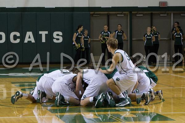 JHS Boys Varsity Basketball 2012-13