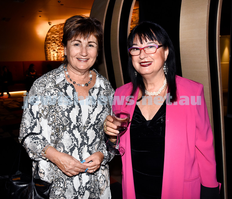 JIFF opening night at Event Cinemas in Bondi Junction. Louise Glaser (left), Nitza Lowenstein. Pic Noel Kessel.