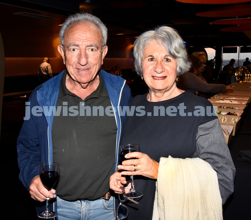 JIFF opening night at Event Cinemas in Bondi Junction. Henry and Ruth Wirth. Pic Noel Kessel