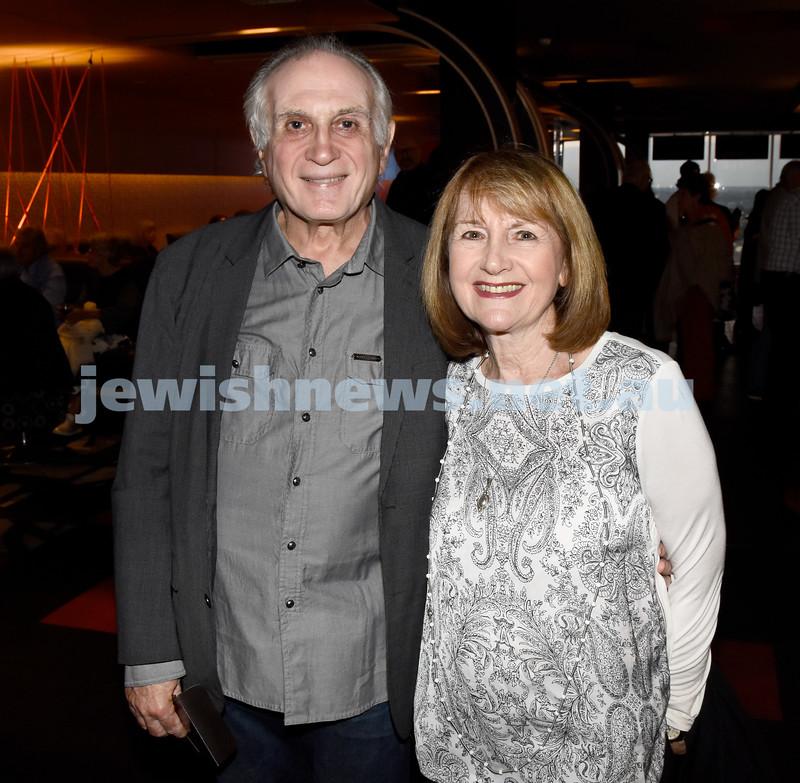 JIFF opening night at Event Cinemas in Bondi Junction. Henry and Kathy Benjamin. Pic Noel Kessel.