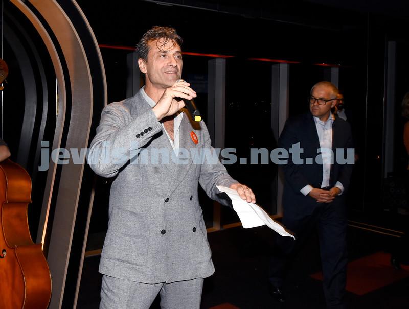 Eddie Tamir opens 2016 JIFF at Bondi Junction. Pic Noel Kessel