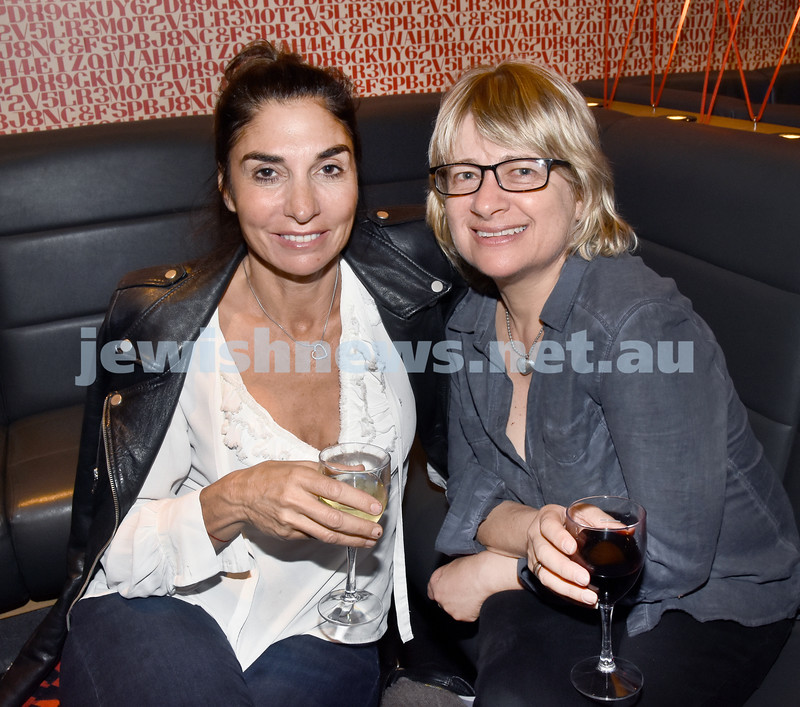 JIFF opening night at Event Cinemas in Bondi Junction. Mandy Meyerowitz (left), Debe Weiss. Pic Noel Kessel.