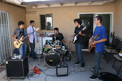JIMMY'S 1ST & 2ND BAND REHEARSAL