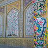 Incredible detail in at the Pink Mosque in Shiraz.