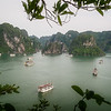 Halong bay from Titov Island