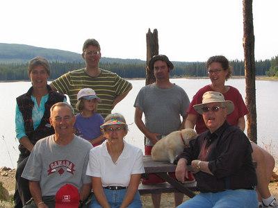 Rod's Family at Postil Lake 2006