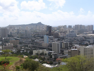 Honolulu, Punchbowl, Waikiki