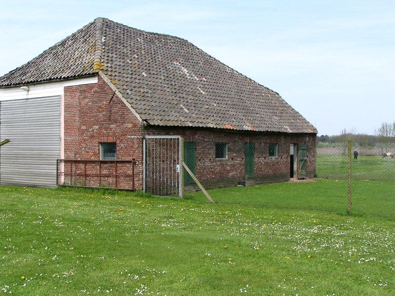 De oude bouderij van de Jansen familie in Molenschot.