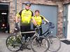 Ton en Gerda op de fiets