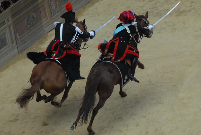 Carabinieri -Palio in Siena