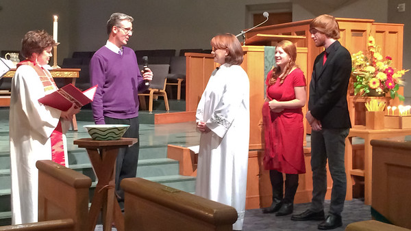 2015-11 Leigh Weber's Ordination at UPC