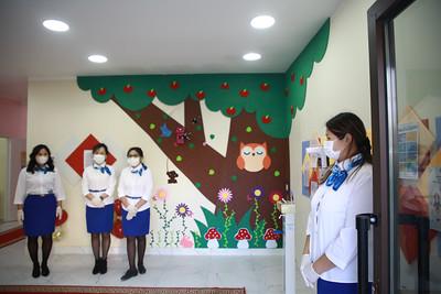 2021 оны есдүгээр сарын 30.Улсын хоёрдугаар төв эмнэлгийн дэргэдэх цэцэрлэгийн нээлт боллоо. ГЭРЭЛ ЗУРГИЙГ Д.ЗАНДАНБАТ/MPA