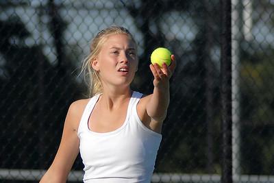 JL Mann vs Greenville High Girl's Tennis 2008