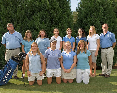 JL Mann Girl's Golf Team