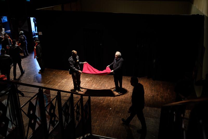 Meeting Jean-Luc Mélanchon, St Denis 05/01/2017