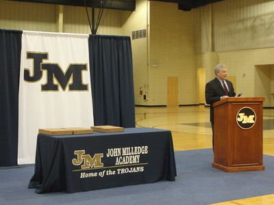 JMA football ring ceremony