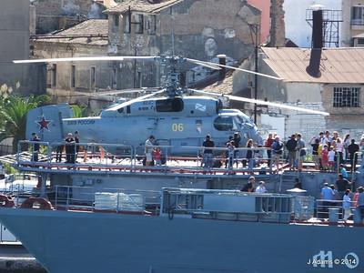 Kamov KA-27PL Helicopter RFS MOSKVA Corfu JMA 26-09-2014 15-54-42