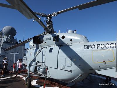 Kamov KA-27PL Helicopter RFS MOSKVA Corfu JMA 26-09-2014 16-26-32