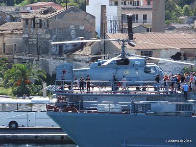 Kamov KA-27PL Helicopter RFS MOSKVA Corfu JMA 26-09-2014 15-54-48