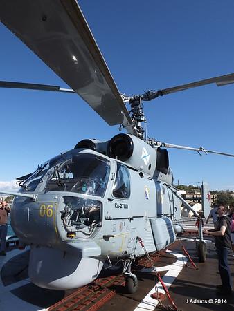 Kamov KA-27PL Helicopter RFS MOSKVA Corfu JMA 26-09-2014 16-26-01