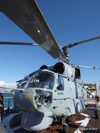 Kamov KA-27PL Helicopter RFS MOSKVA Corfu JMA 26-09-2014 16-25-58