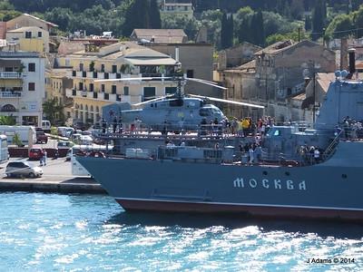 Kamov KA-27PL Helicopter RFS MOSKVA Corfu JMA 26-09-2014 15-54-32