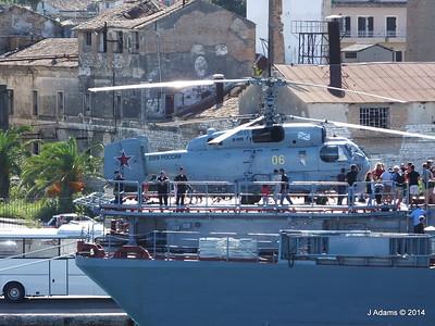 Kamov KA-27PL Helicopter RFS MOSKVA Corfu JMA 26-09-2014 15-54-46