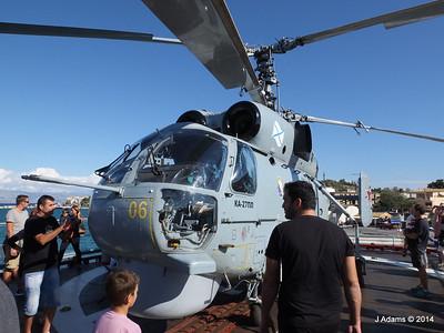Kamov KA-27PL Helicopter RFS MOSKVA Corfu JMA 26-09-2014 16-25-50