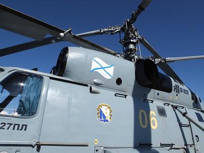 Kamov KA-27PL Helicopter RFS MOSKVA Corfu JMA 26-09-2014 16-27-11