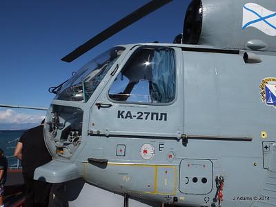 Kamov KA-27PL Helicopter RFS MOSKVA Corfu JMA 26-09-2014 16-26-47