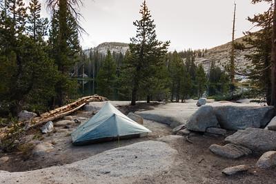 Campsite #1, Sunrise Lake
