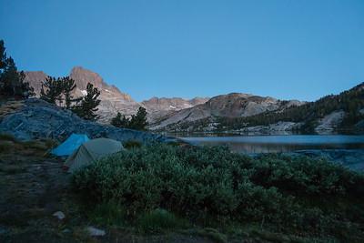 Blue hour, Garnet Lake