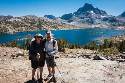 Ken and I, Thousand Island Lake