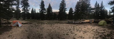 Pano of our campsite.