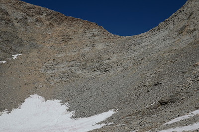 The small, T-shaped snowfield on the left is the sketchy one.