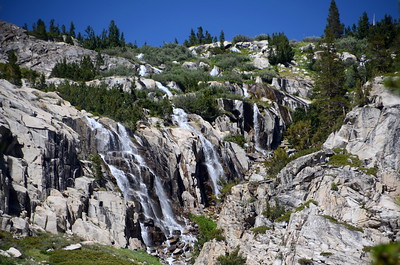 This was such an amazing series of waterfalls at the upper end of LeConte Canyon!