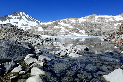 Helen Lake, named after one of John Muir's daughters. Photo by Chuck Haak.