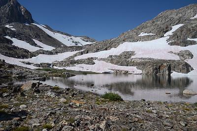 A lake with no name.