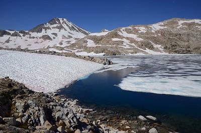 Icy Helen Lake