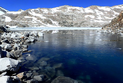 Helen Lake. Photo by Chuck Haak.
