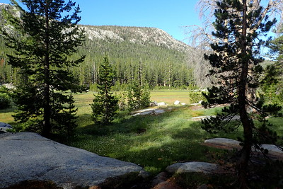 Possibly Colby Meadow, where we had originally intended to spend the previous night. Photo by Chuck Haak.