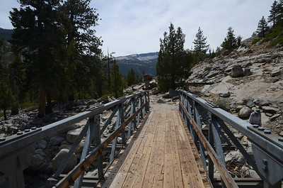 The bridge over Piute Creek.