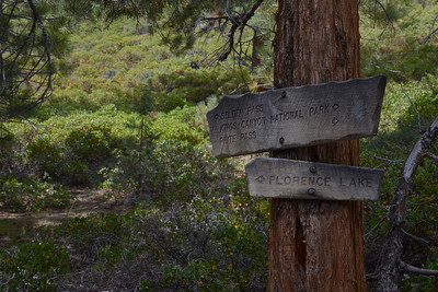 We turned off the JMT here and headed to the Muir Trail Ranch, where our resupply buckets awaited us.