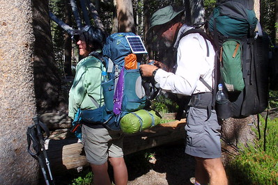 Having hiking companions makes the process just a little easier. Photo by Jill Haak.